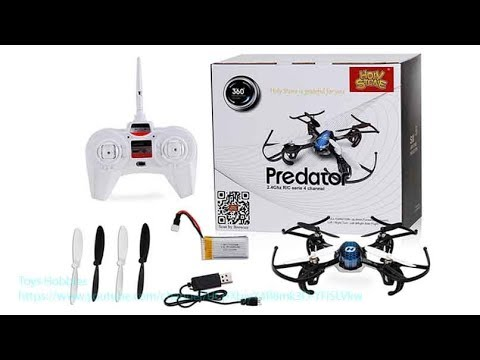 Holy Stone HS170 Review Predator Mini RC Helicopter Drone Toys Hobbies