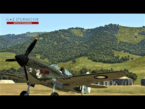 IL-2 Battle of Kuban: Map Tour and FPS test(not for everyone)