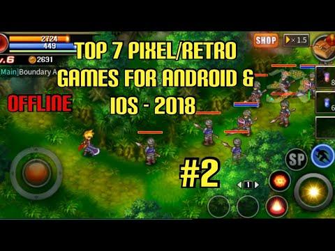 Top 7 Pixel/Retro Games For Android & IOS - 2018 Offline (Frogman Version) #2