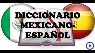 DICCIONARIO MEXICANO ESPAÑOL (opinión Lingoda)