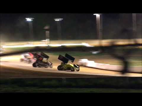 Clinton County Speedway 305 Racesaver Sprint Car Feature Win 5-11-18