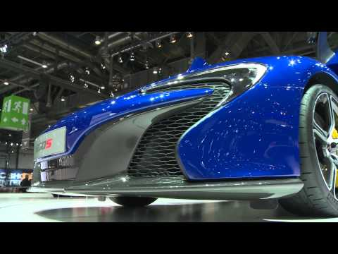Mclaren 650S at Geneva 2014 (Interview with Frank Stephenson, Design Director)