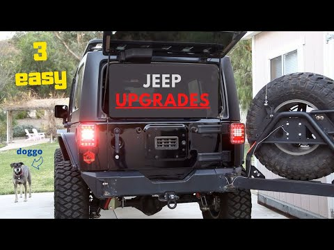 3 Easy Upgrades for the Jeep Wrangler Anyone Can Do!