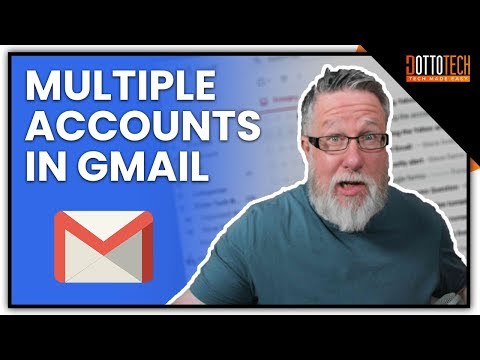 How to set up different email accounts in outlook android phone