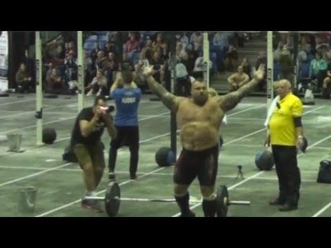 Strongman Eddie Hall sets new Isabel CF World Record!!
