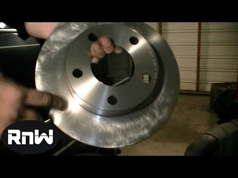 VW Passat Rear Disc Brake Pads and Rotors Replacement - Part 1