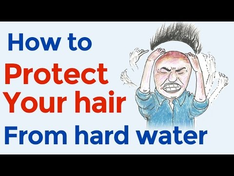 Highly overlooked cause of hair loss: hard water // How to protect your hair from hard water
