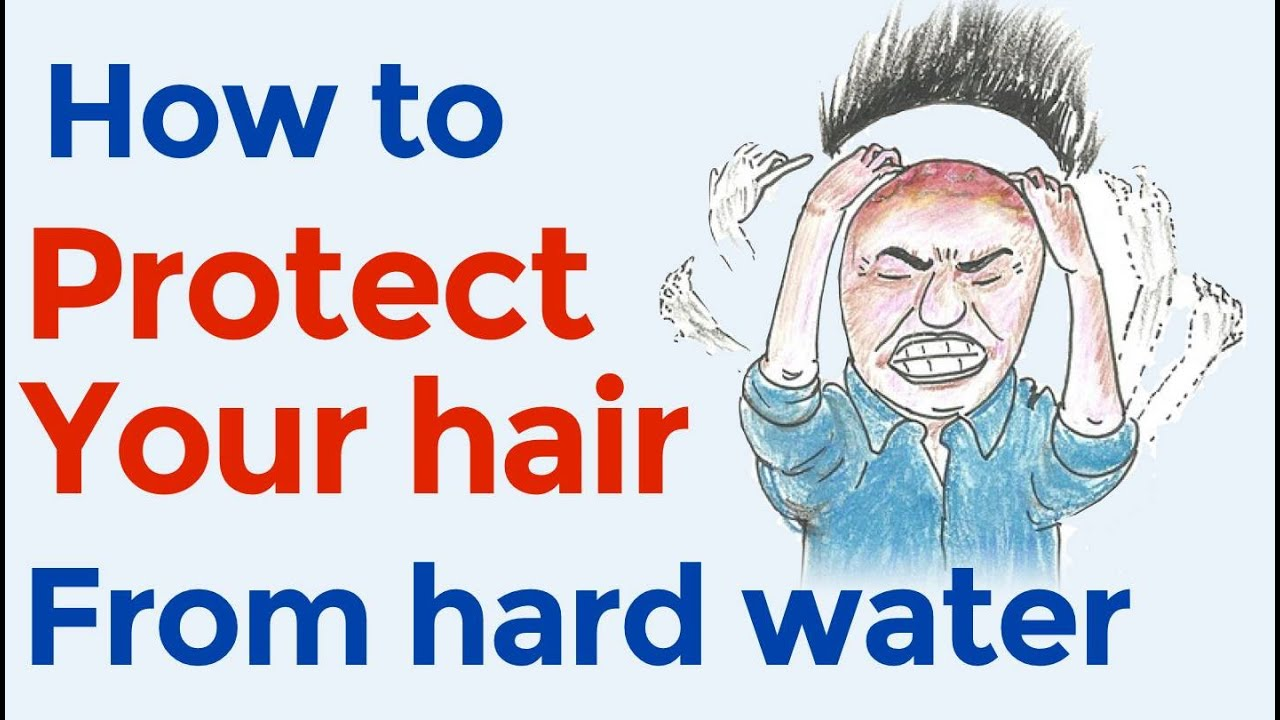 highly overlooked cause of hair loss hard water how to protect your hair from hard water