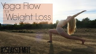 #25DaysofMFit | Yoga Flow For Weight Loss