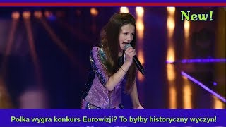 Polka wygra konkurs Eurowizji? To byłby historyczny wyczyn!