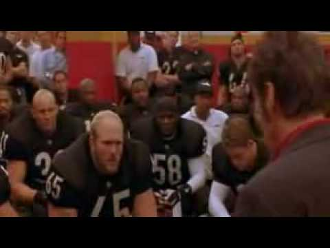 Any Given Sunday - Peace by Inches - Al  Pacino - Inspirational Speech