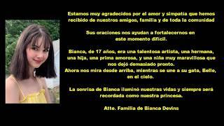 La Trágica Y Triste Historia De Bianca Devins #ripbianca