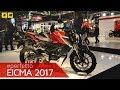 Eicma 2017 - Honda CB125R / CB300R [ENGLISH SUB]