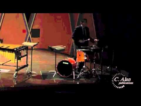 Sleight of Hand (multi-percussion solo) by Scott Ward