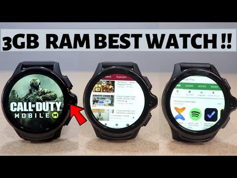 Best SmartWatch | KOSPET Prime 3GB + 32GB | 4G GPS | Dual Camera |