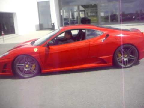 Ferrari friends on Meilenwerk Stuttgart