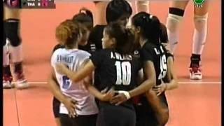 2011 FIVB World Grand Prix - THAILAND vs CHINA (Set 1)
