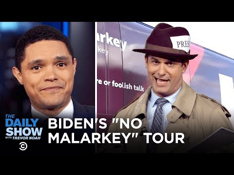 "Joe Biden's Super Dated ""No Malarkey"" Slogan 
