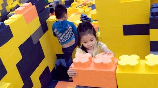 Giant Lego World's Indoor Playground | Playground Fun For Kids | Kid's Adventure