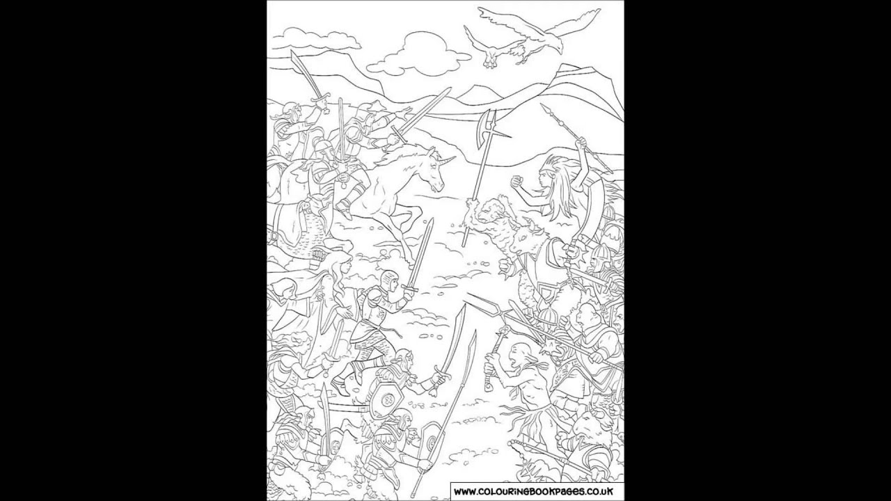 Colouring pages narnia - Chronicles Of Narnia Colouring Pages And Kids Colouring Game