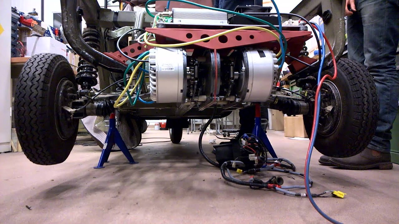 Drive shaft and gearbox assembly test on vehicle youtube for Add electric motor to drive shaft