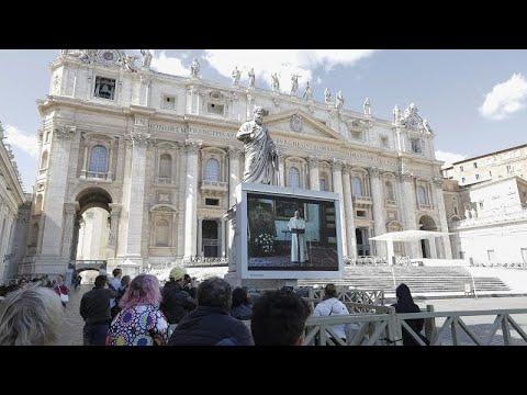 Ватикан: воскресная проповедь по видеотрансляции
