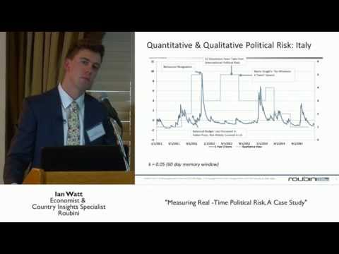 Measuring Real-Time Political Risk, A Case Study