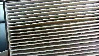Honda Accord 2008 2009 2010 2011 2012 In Cabin Air Filter Removal Replacement Air Conditioning Civic