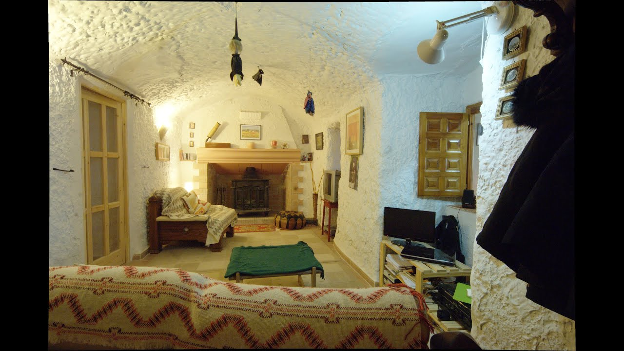 Cave House For Sale In Hu Scar Andaluc A Spain Youtube