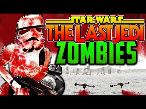 STAR WARS: THE LAST JEDI ZOMBIES! | Full Easter Egg! | Call of Duty Zombies | Black Ops 3 Custom Mod
