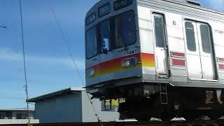 [東急8590系第2の人生]富山地方鉄道17480形「電鉄富山行き」越中荏原駅付近通過