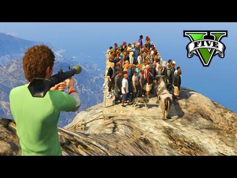 100 personas vuelan por los aires