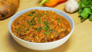 Икра из баклажанов по-мароккански - Заалук. Рецепт от Всегда Вкусно!