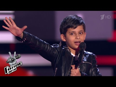 Robert Bagratyan 'The Show Must Go On' - Blind Auditions - The Voice Kids Russia - Season 6