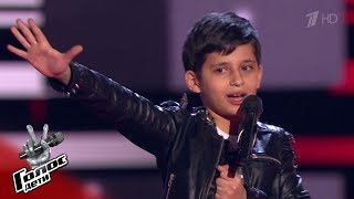 "Robert Bagratyan ""The Show Must Go On"" - Blind Auditions - The Voice Kids Russia - Season 6"