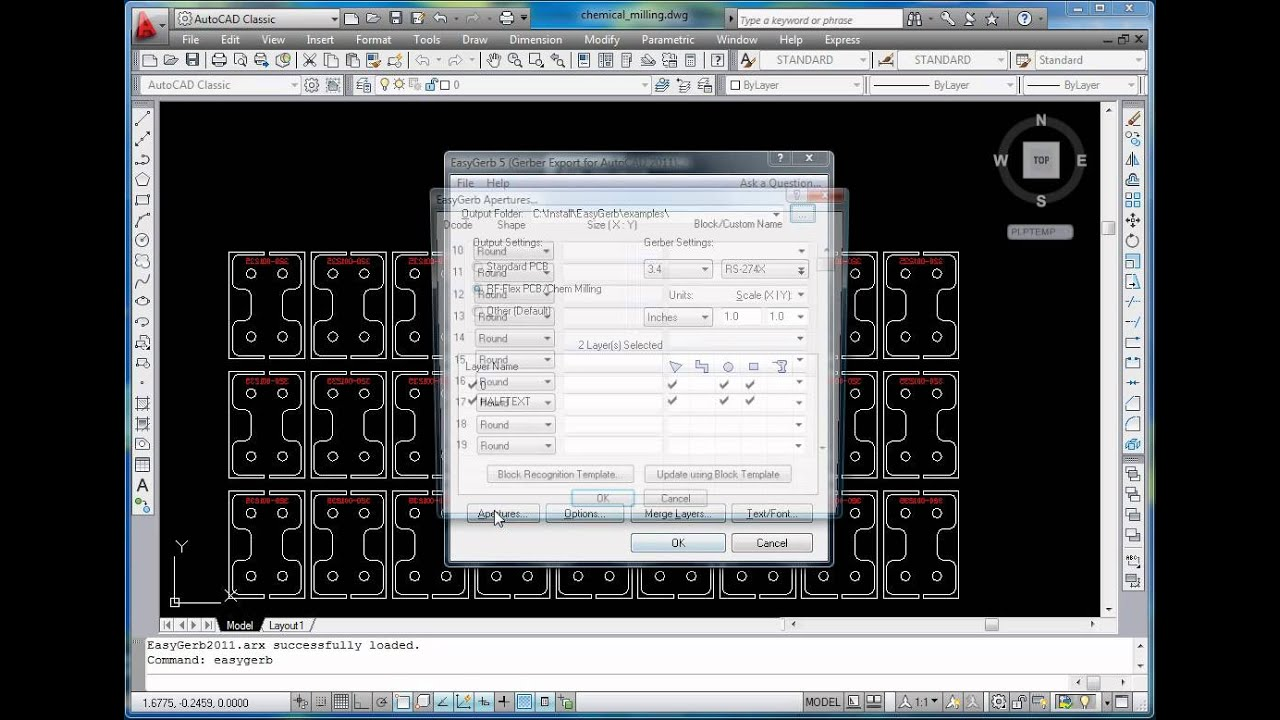 EasyGerb: The Easiest Gerber Export for AutoCAD Users