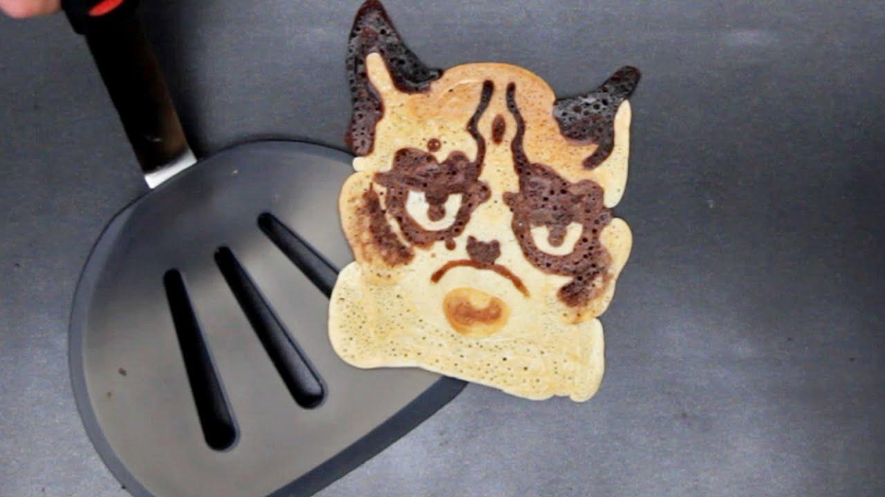 Your Week In Pancake Art Youtube