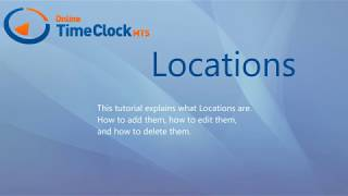 Online Time Clock MTS Locations