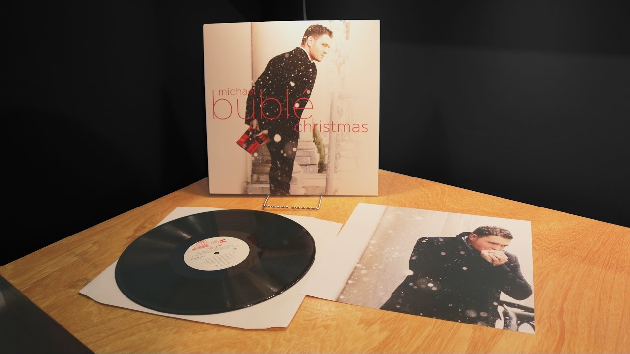 christmas michael buble vinyl unboxing youtube