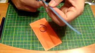 Quilling swirls - tutorial
