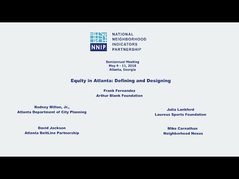 Equity in Atlanta: Defining and Designing