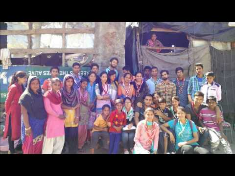 Social work in slum area by Rover Ranger unit and boys Hostel GDC Kullu