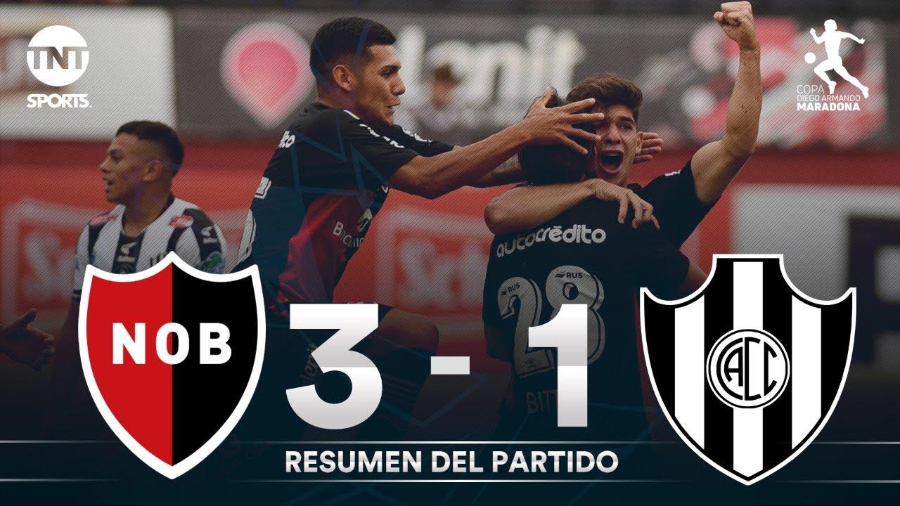 Resumen de Newell's vs C. Córdoba SE (3-1) | Fecha 3 Grupo B - Fase Complementación Copa Maradona