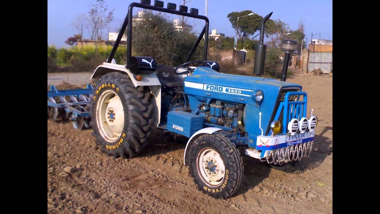 JEETE THE FORD TRACTOR ,BAINS PUNJAB INDIA.