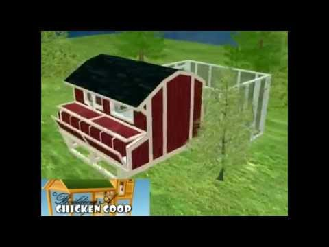 Build Your Own Chicken House Easy Way 3d Plan Example