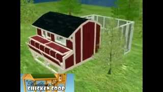 Build Your Own Chicken House Easy Way | 3D Plan Example