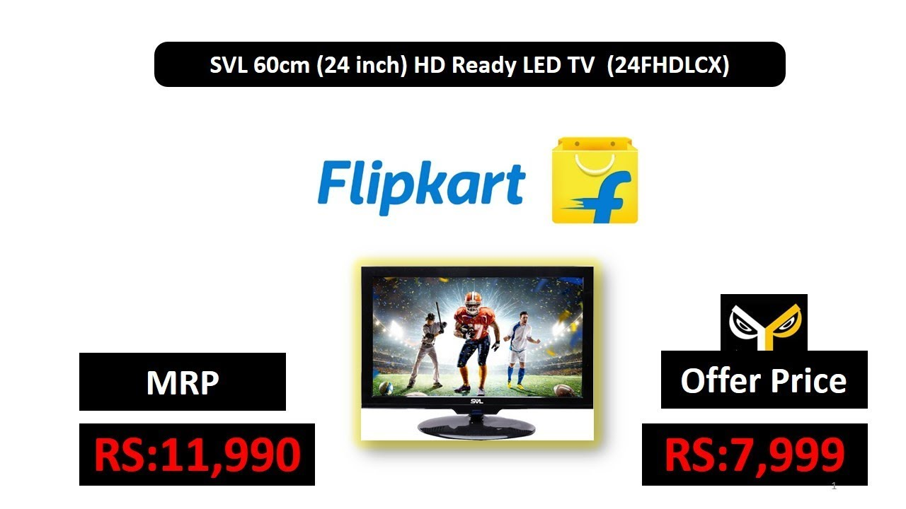 60cm Tv Svl 60cm 24 Inch Hd Ready Led Tv 24fhdlcx