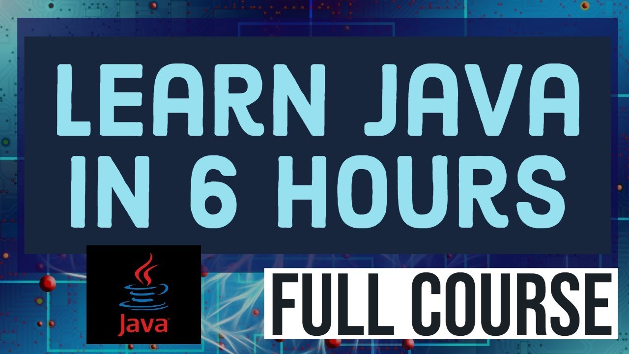 Java Tutorial | Learn Java programming | Full Java Programming Course