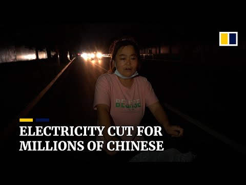 Life with no power: Why some major cities in China are having to ration electricity