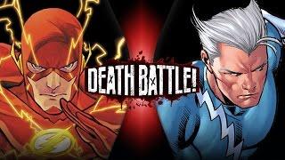 Download Flash VS Quicksilver (Marvel VS DC) | DEATH BATTLE! Mp3 and Videos
